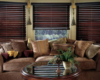 Wood or Faux wood blinds - shutters, custom, shutter, blinds, shades, window treatments, plantation, orlando, florida
